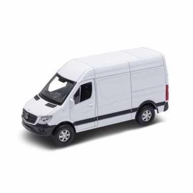 Groothandel speelgoedauto mercedes benz sprinter wit 1:36 kopen