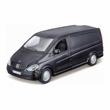 Groothandel speelgoedauto mercedes-benz vito zwart 1:32/16 x 6 x 6 cm kopen