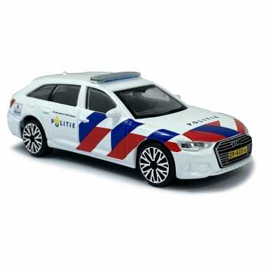 Groothandel speelgoedauto politie nederland audi a6 schaalmodel 1:43/11 x 4 x 3 cm kopen