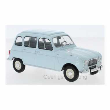Groothandel speelgoedauto renault 4 1965 blauw 1:24/15 x 6 x 6 cm kopen