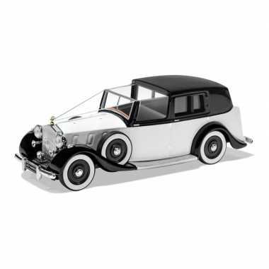 Groothandel speelgoedauto rolls royce phantom iii 1937 trouwauto wit 1:36/12 x 7 x 5 cm kopen