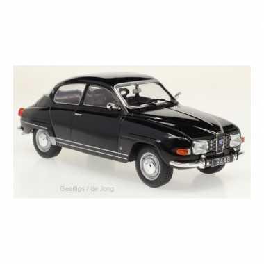 Groothandel speelgoedauto saab 96 1970 zwart 1:24/17 x 6 x 6 cm kopen