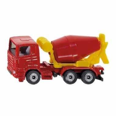 Groothandel speelgoedauto siku cement mixer 8 cm kopen
