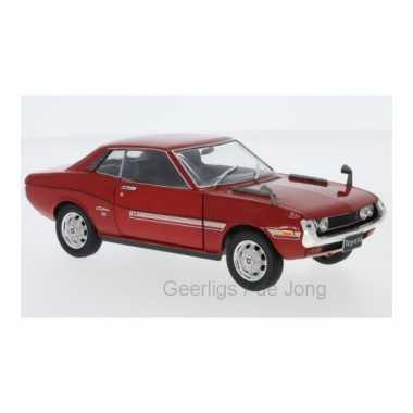 Groothandel speelgoedauto toyota celica 1973 rood 1:24/17 x 6 x 6 cm kopen
