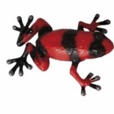 Groothandel speelgoedfiguur bijen kikker zwart met rood 5 cm kopen