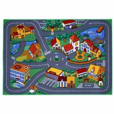 Groothandel  Speelkleden dorp met wegen 95 x 133 cm speelgoed kopen