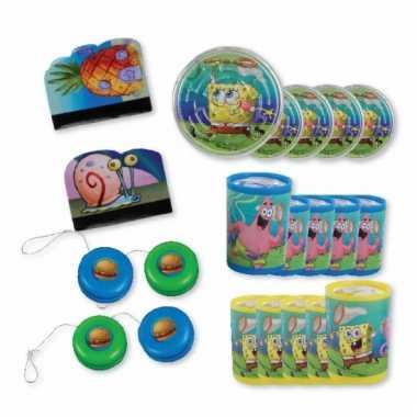 Groothandel spongebob grabbelton set 24 stuks speelgoed