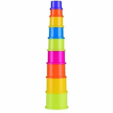 Groothandel stapeltoren peuter/baby speelgoed 9-delig kopen