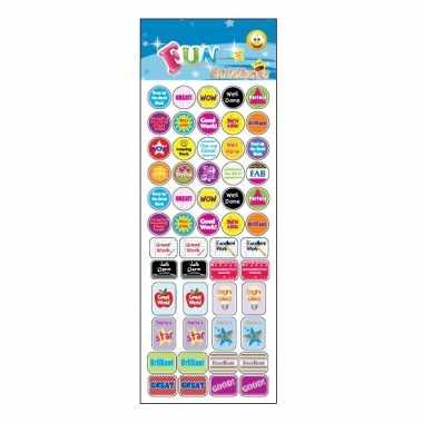 Groothandel stickervel complimenten teksten speelgoed kopen