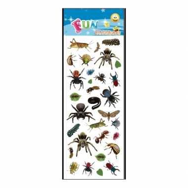 Groothandel stickervel insecten speelgoed kopen