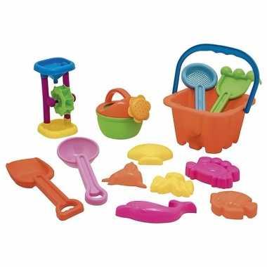 Groothandel strand speelgoed set zeedieren met schep / hark kopen