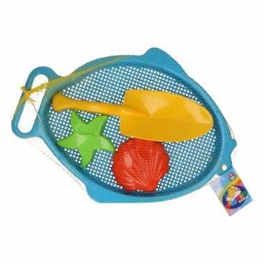 Groothandel strand speelsetjeblauw 4 delig speelgoed kopen