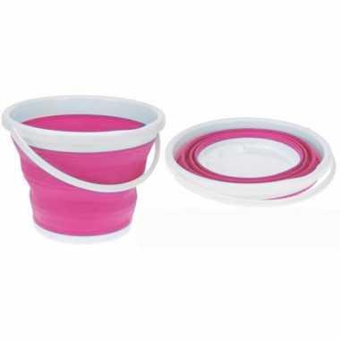 Groothandel strandemmer opvouwbaar roze speelgoed kopen