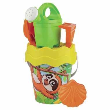 Groothandel strandspeelgoed luiaard emmer met accessoires voor jongens/meisjes/kinderen kopen