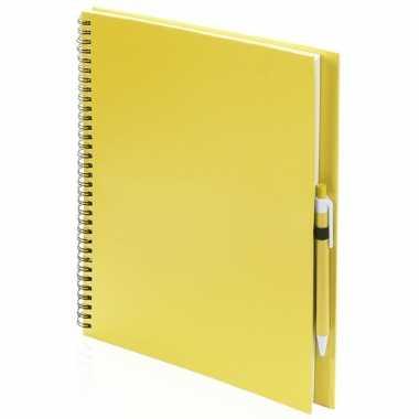 Groothandel tekeningen maken schetsboek a4 gele kaft speelgoed kopen