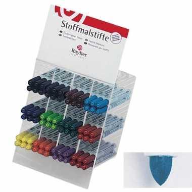 Groothandel textielstift blauw met dunne punt speelgoed kopen