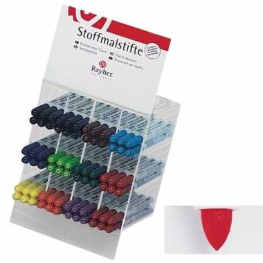 Groothandel textielstift rood met dunne punt speelgoed kopen