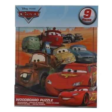 Groothandel traktatie speelgoed cars puzzeltjes 9 stuks