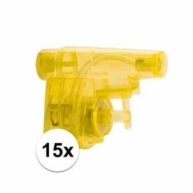 Groothandel traktatie speelgoed waterpistolen 15x kopen