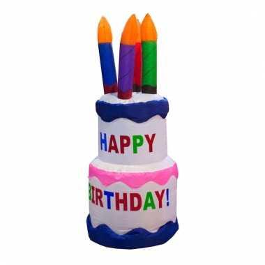 Groothandel verjaardag cake opblaasbaar 120 cm speelgoed kopen