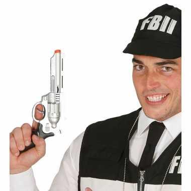 Groothandel verkleed fbi pistool/wapen 28 cm speelgoed kopen