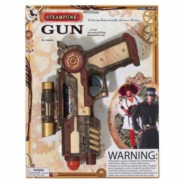 Groothandel verkleed steampunk thema speelgoed wapen 25 cm kopen