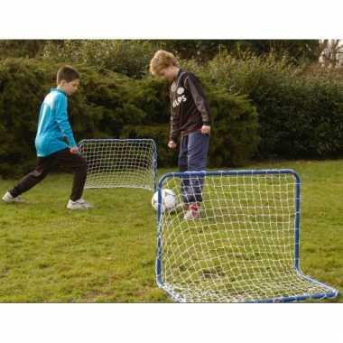 Groothandel voetbaldoelen met net 78 x 56 cm speelgoed kopen