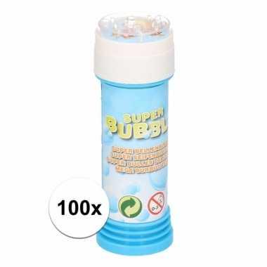 Groothandel voordelige bellenblaas 50 ml 100x speelgoed kopen