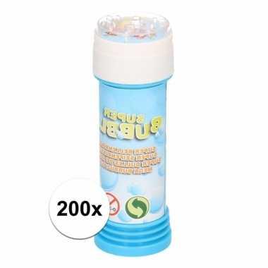 Groothandel voordelige bellenblaas 50 ml 200x speelgoed kopen