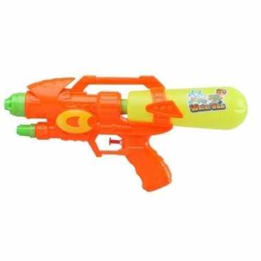 Groothandel watergeweer oranje/geel 34 cm speelgoed kopen