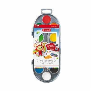 Groothandel waterverf 12 kleuren voor kinderen speelgoed