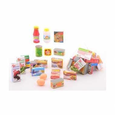Groothandel winkeltje spelen plastic boodschappen speelgoed kopen