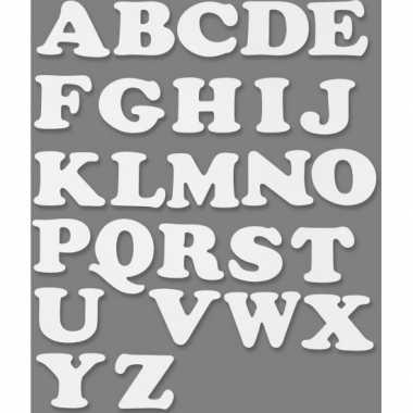 Groothandel witte alfabetletters van karton 3 sets speelgoed kopen