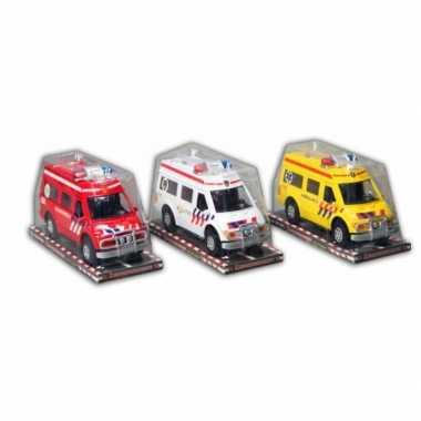 Groothandel Witte Politie Auto Plastic 26 Cm Speelgoed Kopen