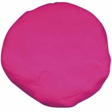 Groothandel zakje met fuchsia roze boetseerklei speelgoed
