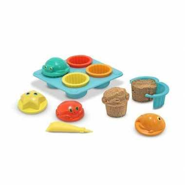 Groothandel zand speelgoed set cupcakes kopen