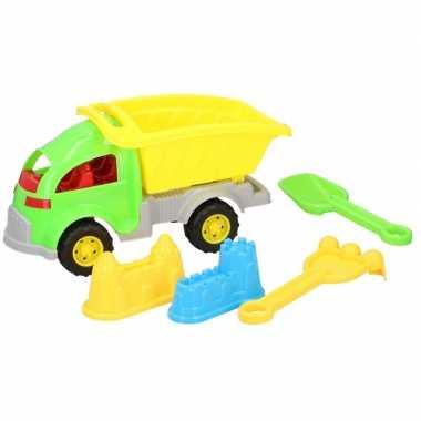 Groothandel zandbak speelgoed kiepauto enkele oplegger 33 cm kopen
