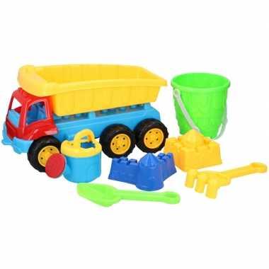 Groothandel zandbak speelgoed kiepauto enkele oplegger 35 cm kopen