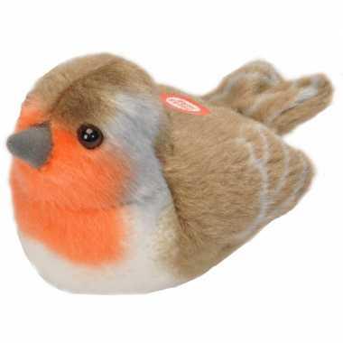 Groothandel zangvogels knuffels roodborstje speelgoed kopen
