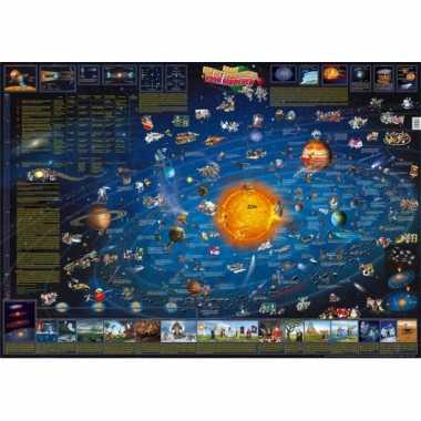 Groothandel zonnestelsel poster 137 x 97 cm speelgoed kopen