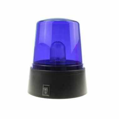 Groothandel zwaailamp/zwaailicht met blauw ledlicht 11 cm speelgoed k