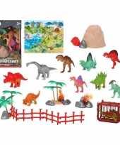 Groothandel 10x plastic dinosaurussen speelgoed figuren voor kinderen