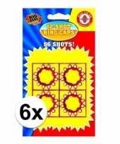 Groothandel 12 schots speelgoed plaffertjes 6 stuks