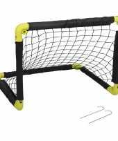 Groothandel 1x inklapbaar voetbaldoel 55 cm speelgoed