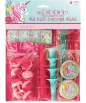 Groothandel 48x kinderfeestje uitdeelcadeautjes eenhoorn speelgoed