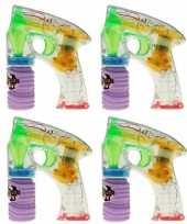 Groothandel 4x bellenblaas led speelgoed pistool