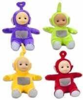 Groothandel 4x teletubbie knuffels poppen 18 cmtinky winky dipsy laa laa po speelgoed