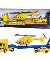 Groothandel ambulance speelgoed set