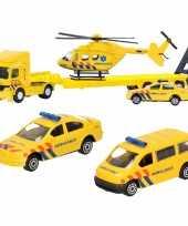 Groothandel ambulance wagens uitgebreide speelgoed set 4 delig die cast