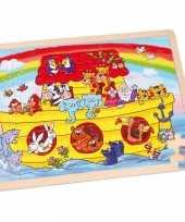 Groothandel ark van noach puzzel met 48 stukjes speelgoed